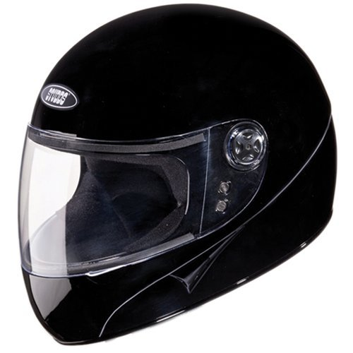 Studds Chrome Super Helmet (Black, L)