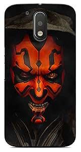 Kaira High Quality Printed Designer Back Case Cover For Motorola Moto G4 Plus(devilface)