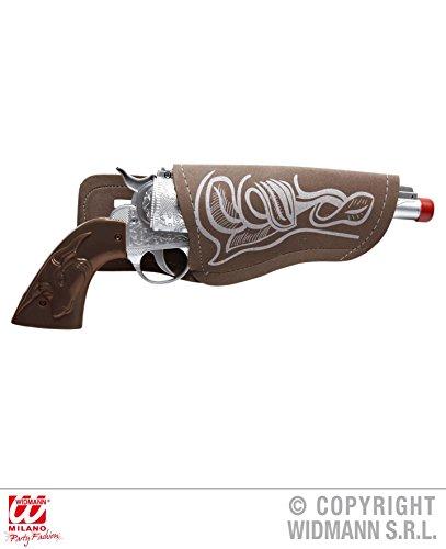COWBOY - PISTOLE + HOLSTER -, Sheriff Wilder Westen Cowboys Revolverheld (Für Frauen Kostüm Cowboy)