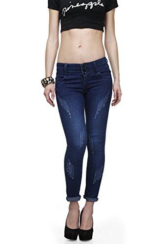 ahhaaaa-Blue-Ankle-Length-denim-jeans-for-Women