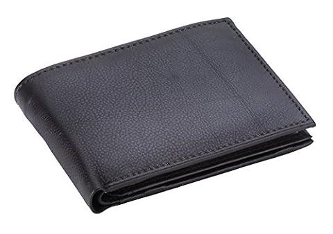 Goudsmid® Ledergeldbörse Geldbeutel Geldbörse Portemonnaie Ledergeldbeutel Brieftasche Leder Herren (Braun