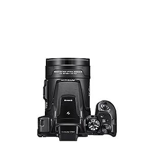 Nikon-Coolpix-P900-Digitalkamera-16-Megapixel-83-Fach-optischer-Megazoom-75-cm-3-Zoll-RGBW-Display-mit-921000-Pixel-Full-HD-Video-Wi-Fi-GPS-NFC-bildstabilisiert-schwarz