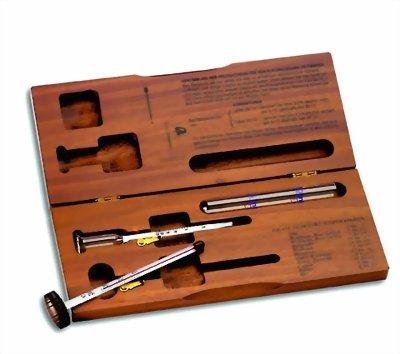 TFA Wein Set in Holzschatulle mit Thermometer und Alkoholmesser 14.2003