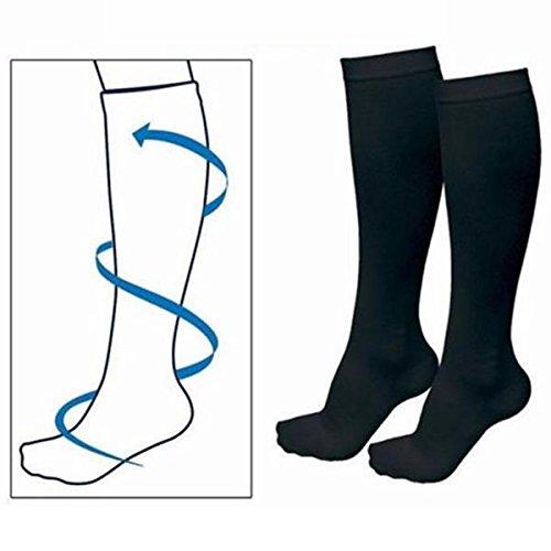 Bluelover Elastische Kompression Strümpfe Lindern Krampfadern Venen Socken Männer Frauen Abnehmen