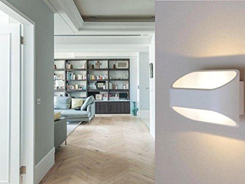 Lightess Moderne 3W LED Wandleuchte Innen LED Aluminiumkolben Wandleuchte  Moderne Minimalistische Wandleuchte Von Oben Nach Unten  Beleuchtet,Hotelzimmer ...