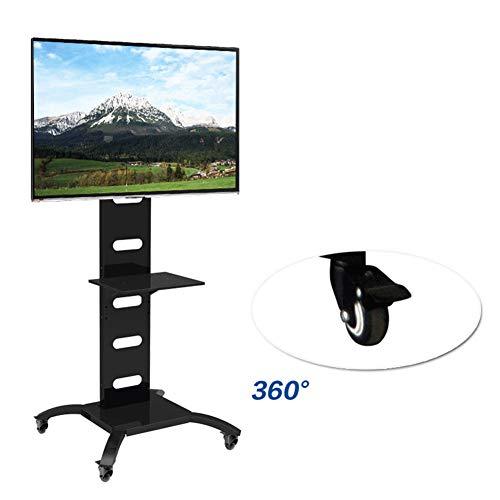 37 Flat Panel Tv Stand (Xue STV-Stand, TV-Cart Für 37-70 Zoll LED Lcdplasma TV Flat Panel Displays 360 º of Swivel Wire Management Home Bedroom Klassenzimmer Treffpunkt Raum Video-Call)