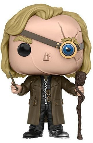 Funko Mad-Eye Moody Vinyl Figure, Pop Collection, Serious Harry Potter, One Size (10990)
