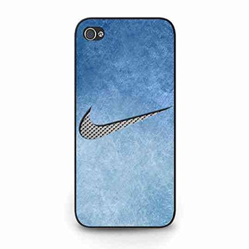 Custom Nike Logo Custodia Cover,Just Do It Nike Logo Iphone 5C Case,Nike Custodia Cover Black Hard Plastic Case Cover For Iphone 5C Color051