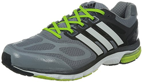 adidas Performance Supernova Sequence 6 M22919 Herren Laufschuhe, Grau (Tech Grey F12/Running White FTW/Solar Slime), 39 1/3 EU
