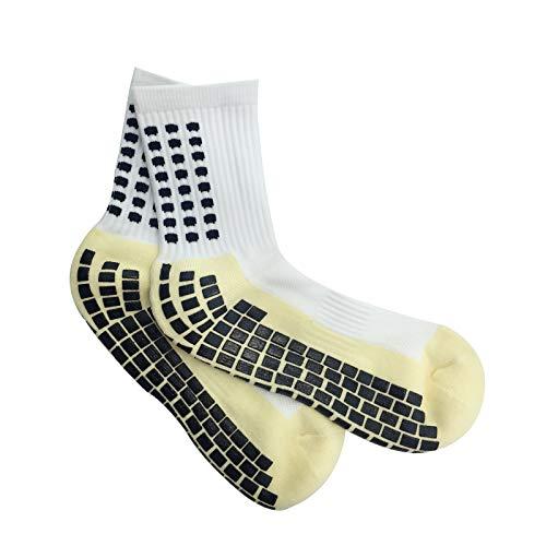 Golo sport-calzini antiscivolo calcio-cuscinetti in gomma-unisex-taglia unica-trusox/stile-nero-rosso-bianco-fitness-crossfit