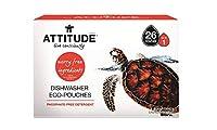 Attitude Dishwasher Detergent Eco Pouches, 26 Pouch