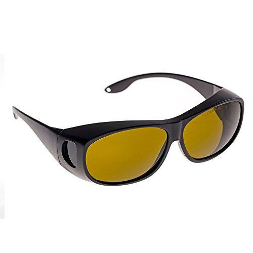 CE 1064 nm Laser Schutzbrille Schutzbrille Schutzbrille für YAG DPSS Faserlaser, Stil C, schwarz, Style C Dpss-laser
