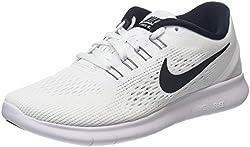 Nike Damen Free Rn Laufschuhe Weiß (White/Black) 41 EU