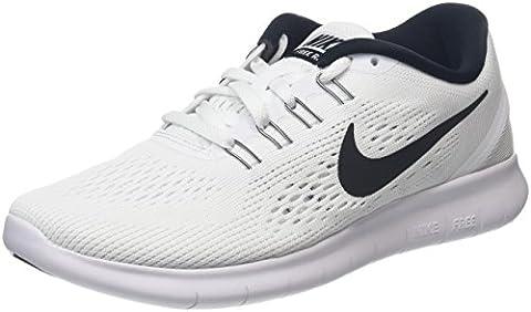 Nike Damen Free Run Laufschuhe, Weiß (White/Black), 36 EU