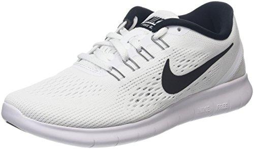Nike Damen Free Run Laufschuhe, Weiß