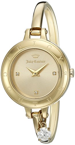 Juicy Couture Women's 'Melrose' Quartz Tone and Gold-Plated Casual Watch(Model: 1901432)
