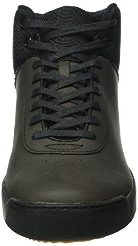 Lacoste Explorateur Ankle 316 2, Baskets Basses Femme Noir - Schwarz (Blk 024)