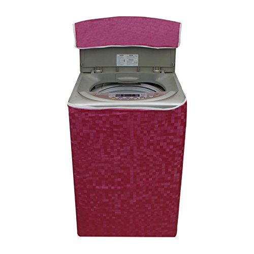 Glassiano Washing Machine Cover For Whirlpool Stainwash Ultra Fully Automatic Top Load 7.2 Kg  available at amazon for Rs.399
