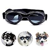 PEDOMUS Hunde Sonnenbrille Verstellbarer Riemen für UV-Sonnenbrillen Wasserdichter Schutz für