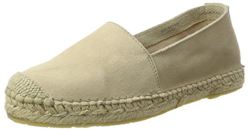 SELECTED FEMME Women's Sfmarley New Suede Espadrilles Espadrilles Espadrilles, Beige (Sand), 5 UK