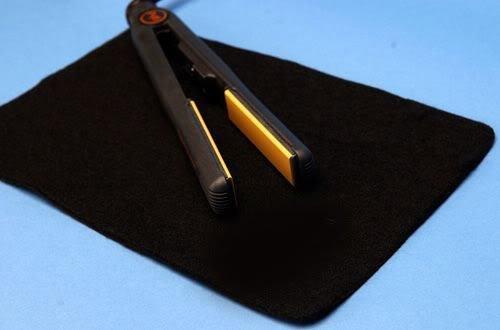 Mateque Protecteur de fer plat résistant à la chaleur