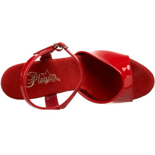 Pleaser - Sky-309, Sandali Donna Rosso (Red (Red Pat/Red))