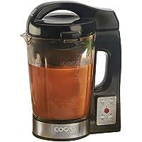 Cooks Professional Máquina eléctrica para Hacer Sopa y batidora Sopa de Cocina Kettle 1100W con Jarra de Vidrio