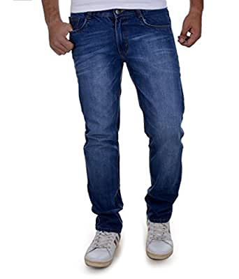 Ben Martin Men's Jeans -(BM7-JJ-3-BLUE_28)