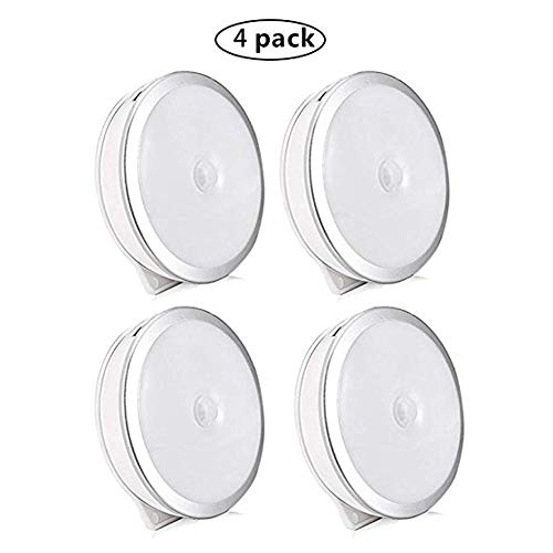 Sensore di movimento Luci interne, 4 Pack Night Light
