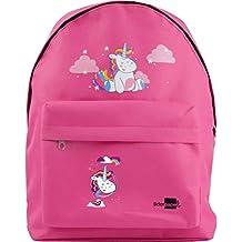 Liderpapel Cartera Escolar Mochila Unicornio Color Rosa 380x280x120 Mm