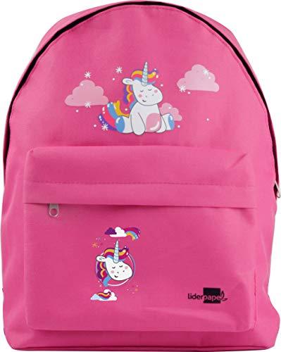 Liderpapel Cartera Escolar Mochila Unicornio Color