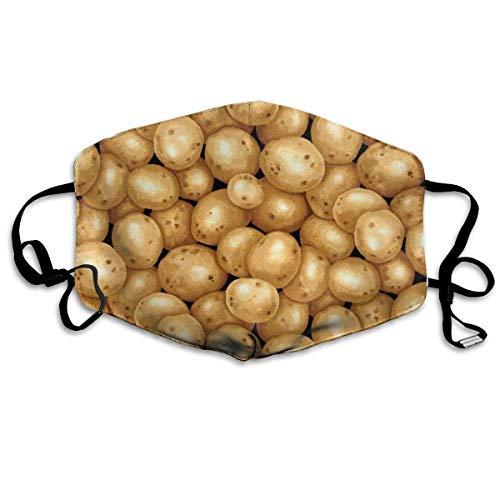Preisvergleich Produktbild Nicegift Gesichtsmasken für Gartenkartoffeln,  atmungsaktiv,  mit elastischer Ohrschlaufe