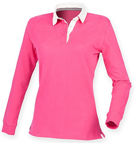 womens-front-row-premium-fashion-slim-fit-rugby-collared-shirt-bright-pink-size-m