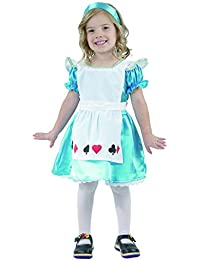 TODDLERS ALICE IN WONDERLAND FANCY COSTUME FAIRYTALE 2 - 4 YEARS