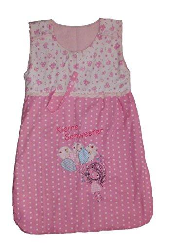 pinkeSterne ☆ Schlafsack Baby/Kleinkind Mädchen Handmade Strampelsack