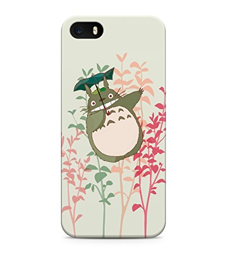 My Neighbor Totoro Flying With Umbrella Hard Plastic Snap On Back Case Cover For iPhone 5 / 5s Custodia