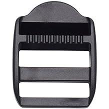 25mm plástico escalera deslizante bloqueo de ajustar hebillas para cincha de correas de mochila, 1paquete de 10