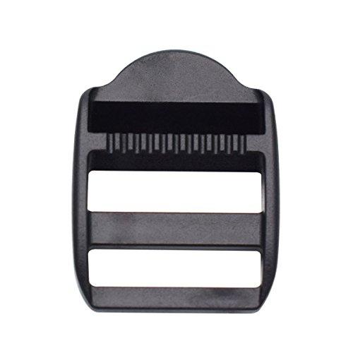 25 mm plastic ladder sliding lock adjust buckles for backpack straps cinch, 1 10 package