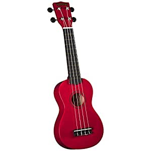 Hamano U-30RD Colorful Soprano Ukulele - Red