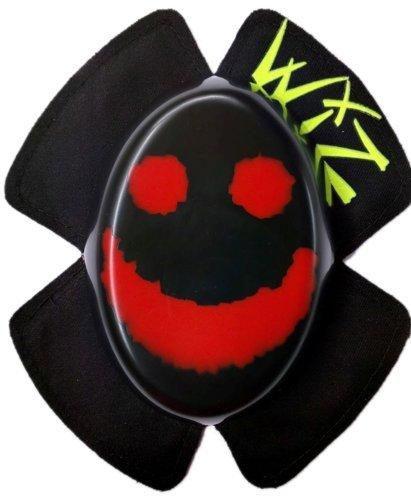 Preisvergleich Produktbild WIZ Knieschleifer - Smily rot auf Schwarz