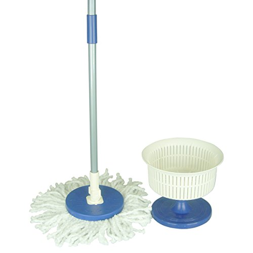 Primeway 360 Rotating easy go mop & spin device tray - Blue  available at amazon for Rs.399
