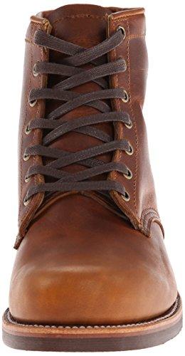 Chippewa 1901m82 Large Cuir Chaussure de Travail Tan Renegade