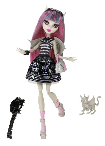 Mattel Monster High X6950 -  Rochelle, Puppe (High Monster Rochelle)