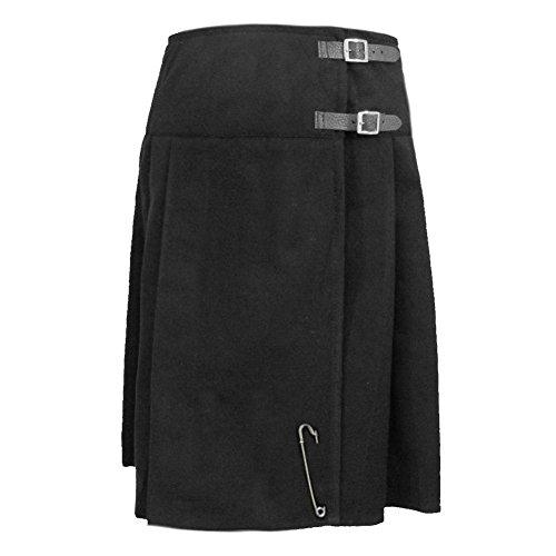 Tartanista Black 23 Inch Kilt Skirt Size 10 87a32bcf8982