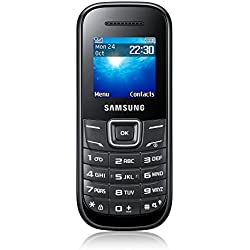 Samsung E1200 Téléphone portable débloqué Noir (import Europe)