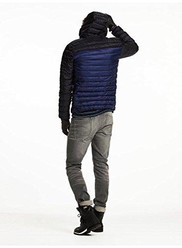 SCOTCH AND SODA Quilted Hooded Veste Bleu/noir Bleu/noir