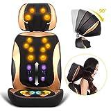 E-KIA MassagegeräT Elektrisch Ergonomischer Stuhl, Intelligente Massageauflage, Taillenmassage des Simulationsmannes 3D