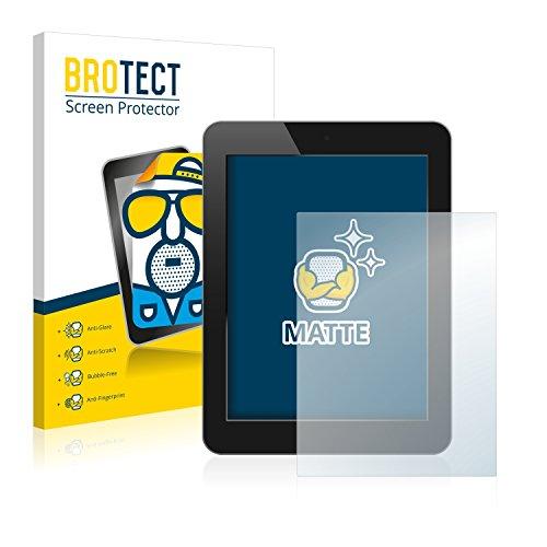 2x BROTECT Matte Film Protection pour PDAs, systèmes de navigation avec 17.8 cm (7.0 Zoll) [154.8 x 87 mm] Protection Ecran - Mat, Anti-Réflets