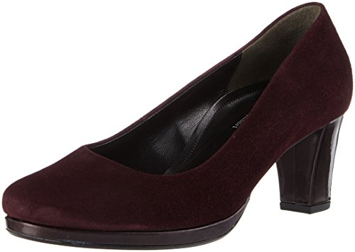 Gabor Shoes Damen Comfort Fashion Pumps, Rot (48 New Merlot), 39 EU