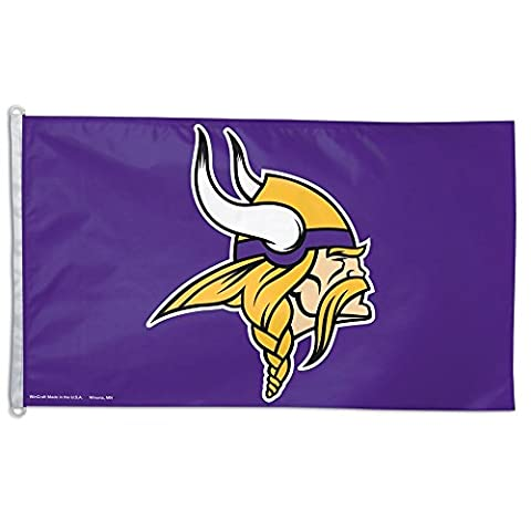 Minnesota Vikings 3 feetx5 feet Flag